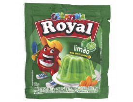 GELATINA ROYAL LIMAO DP 15 UN 25G