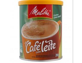 CAFE COM LEITE MELLITA 200G
